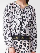 Adidas x Stella McCartney STELLASPORT Graphic Jacket Leopard Medium AC1132