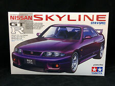24145 1/24 Tamiya Model Car Kit Nissan Skyline GT-R R33 V Spec GTR JDM