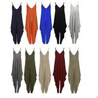 Women Cami Lagenlook Romper Baggy Hareem Jumpsuit Playsuit Dress