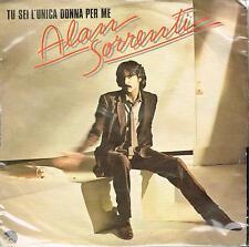 """Alan Sorrenti: Tu sei l'Unica Donna per Me / All day in Love LA & NY - Vinyl 7"""""""