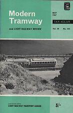 MODERN TRAMWAY No.353 (May 1967) - MANX ELECTRIC RAILWAY -  FREIBURG IM BREISGAU
