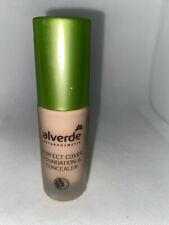 Alverde Naturkosmetik Perfect Cover Faoundation & Concealer 30 Champange 20ml
