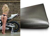 Carbon Kunstleder Motorrad Sitzbankbezug Sitzbezug Sitzbank universal für Bikes