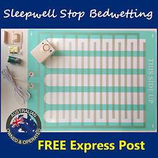 Bed Wetting Alarm Mattress LARGE - Easy Clean Mat Bedwetting Enuresis NEW DESIGN