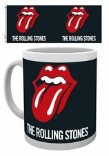 THE ROLLING STONES LOGO TONGUE LIPS MUG NEW GIFT BOXED 100% OFFICIAL MERCHANDISE