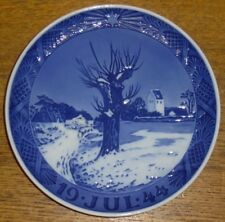 Royal Copenhagen Porcelain Christmas Plate - Jul 1944