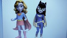 Funko Rock Candy: Supergirl & Batgirl Action Figure - 2PC