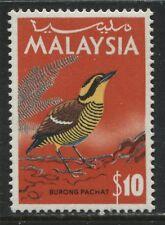 Malaysia 1965 $10 high value mint o.g.