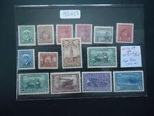 Canada 1942-1948 War Effort (14v Set) (SG 375-388) MNH CAT £150