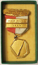 1946 Maine State Rifle & Pistol Assn Dewar Course Team Medal Shooting