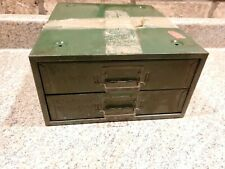 Vintage 2 Drawer Union Chest No 210 Utility Sectioned Storage Z2
