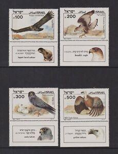 Israel - 1983, Biblical Birds of Prey, 1st series set + Tabs - MNH - SG 944/7