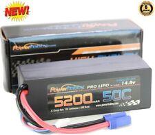 Powerhobby 4S 14.8V 5200mAh 50C Lipo Battery Hard Case 4-Cell w EC5 Plug