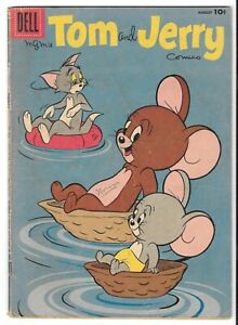 Tom and Jerry #169 (August 1958, Dell Comics)