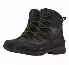 The North Face mens Size 8 Black Chilkat Evo Waterproof Leather boots New