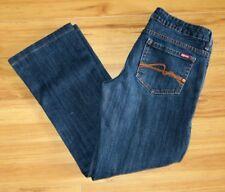 Makers of True Originals Jeans Blue Stretch Denim Boot Cut Prism Size 29 x 27.5