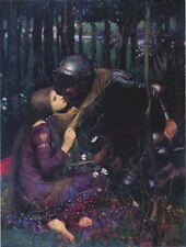 "*Postcard-""Lady Bids Farewell to Her Loving Knight""  ...Classic- (B339)"