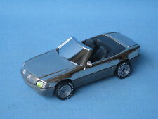 Matchbox Mercedes 500SL Silver Plated Pre-Pro 70mm World Class Sports Car