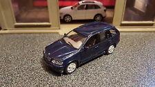 1:43 1/43 Diecast BMW X5 Blue NEW