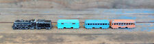 Vintage Midgetoy 4-6-4 Steam Engine Train Set - Complete