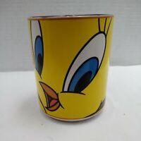 Tweety Bird Ceramic Coffee Mug Vintage 1998 Looney Tunes Cartoon Gibson 16 oz