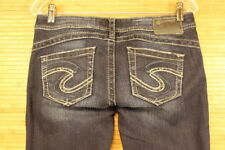 WOMENS SILVER TUESDAY BOOTCUT JEANS SIZE 29X34 EXELLENT PREOWNED CONDITION #561