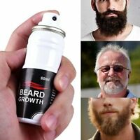 Beard Growth Spray Grow Stimulator 100% Natural Hair Moustache Fast Beardboost