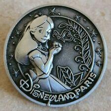 Pin Trading Disney Pins Disneyland Paris Alice in Wonderland Butterfly Medal