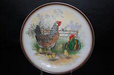 Hassenpflug Vienna Austria Hen Rooster Plate