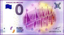 UE CQ-2 / VIADUC DE MILLAU / BILLET SOUVENIR 0 EURO / 2018-2