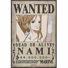ONE PIECE - Poster Wanted Nami New (52x38)