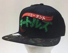 Teenage Mutant Ninja Turtles TMNT Snapback Baseball Hat Bioworld 190371417962