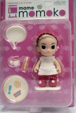 Sekiguchi Mame Momoko Relax Mini Figure 10cm Doll Moving Arm, Leg & Head