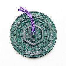 New Japanese Calligraphy SHODO Iron Round Paper Weight BUNCHIN KURETAKE Japan