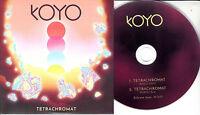 KOYO Tetrachromat 2017 UK 2-trk promo test CD
