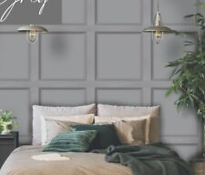 12981 Grey Wood Panel Wallpaper
