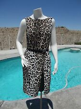 Leopard Dress women's (size 4) New with tags & FREE SHIP