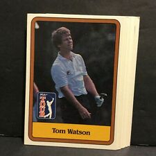 1981 Donruss Golf  Lot of 14 #1 Tom Watson Rookie Cards  Sku12A2