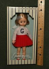 "1978 Vogue Dolls The World of GINNY Red & White CHEERLEADER Outfit 8"" Doll"