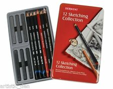 DERWENT SKETCHING COLECTION 12 Genuine Derwent Sketching
