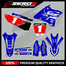 YAMAHA YZ YZF 125 250 450 MOTOCROSS GRAPHICS MX GRAPHICS KIT YAMAHA OEM TEAM 18