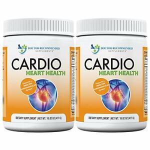 Cardio Heart Health-L-Arginine Powder Supplement - 16.82 oz X 2 Packs