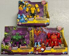 """New listing Transformers Cyberverse Action Figures """"Battle For Cybertron"""" Ages 6+"""