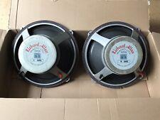 """More details for vintage richard allen speakers 15"""""""