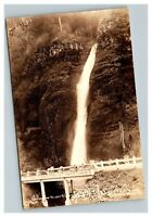 Vintage Early 1900's Columbia River Highway Oregon Waterfall UNPOSTED