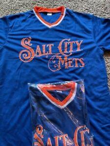 Salt City Syracuse NY Mets SGA Jersey Large SGA 🔥🔥🔥🔥