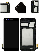 WOW Touch Digitizer LCD Screen Frame For LG Fortune LG-M153 Cricket Black