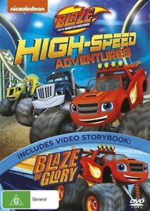 Blaze And The Monster Machines - High-Speed Adventures DVD : NEW