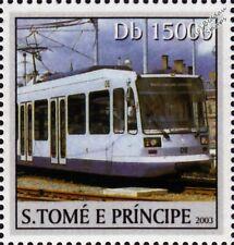 SHEFFIELD SUPERTRAM 08/108 Light Rail Tram Street Car Stamp (2003)