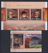 Guinea 2013 - Giuseppe Verdi - Noten Komponist - Falstaff Aida Rigoletto Otello